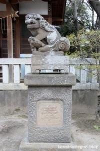 西一之江香取神社(江戸川区西一之江)14