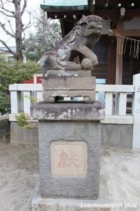 西一之江香取神社(江戸川区西一之江)18