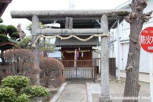 日枝金山神社(江戸川区西一之江)1
