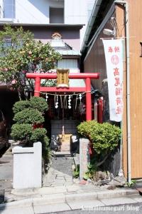 高尾稲荷神社(中央区日本橋箱崎町)1