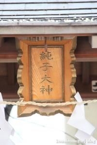 純子稲荷(中央区日本橋茅場町)6