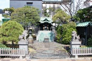 三囲神社摂社(中央区銀座)11
