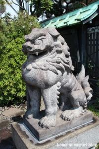 三囲神社摂社(中央区銀座)13