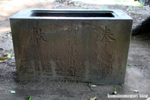 神明社(さいたま市北区土呂町)3