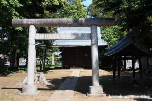 神明神社(さいたま市見沼区蓮沼)3