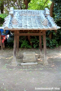 神明神社(さいたま市見沼区蓮沼)4