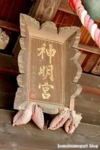 神明神社(さいたま市見沼区蓮沼)9
