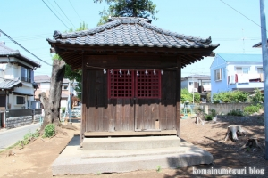 稲荷神社(さいたま市見沼区大谷)1