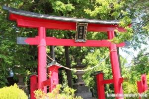 染谷氷川神社(さいたま市見沼区染谷)2