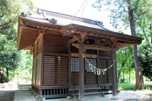 染谷氷川神社(さいたま市見沼区染谷)6