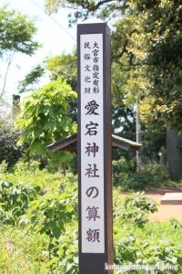 愛宕神社(さいたま市見沼区御蔵)2