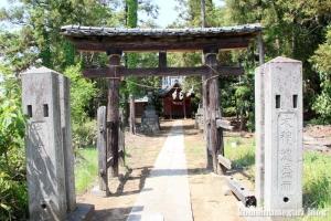八幡宮(さいたま市見沼区南中丸)1