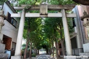 一之宮神社(横浜市神奈川区入江)3