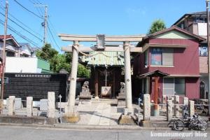 水神宮(横浜市鶴見区生麦)1