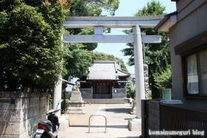 神明社(横浜市鶴見区馬場)1
