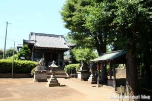 熊野神社(横浜市鶴見区北寺尾)1