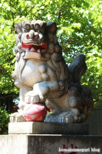 熊野神社(横浜市鶴見区北寺尾)3