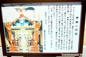熊野神社(横浜市鶴見区寺谷)9