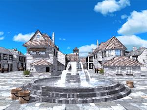 石造りの街並み