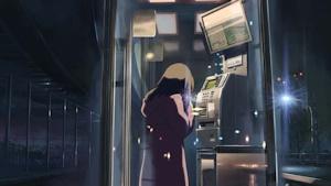 別れを告げる電話ボックス
