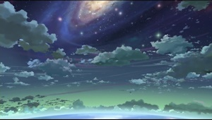 夢の中の夜空