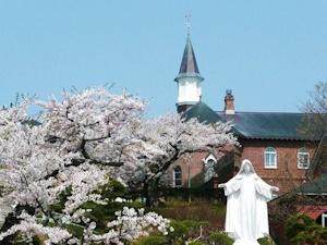 春のトラピチヌス修道院
