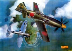 キ-99とP-47