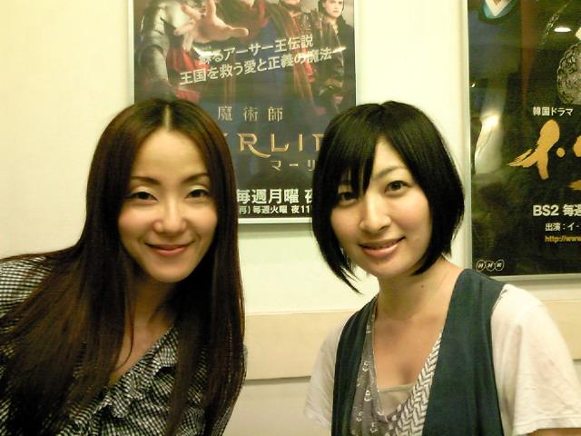 坂本真綾と田中敦子