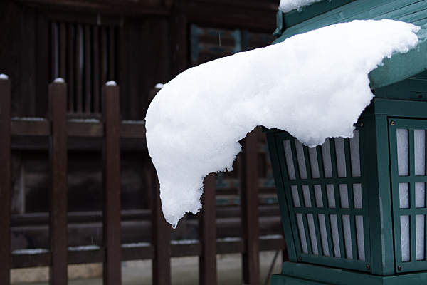 雪の興正寺-9