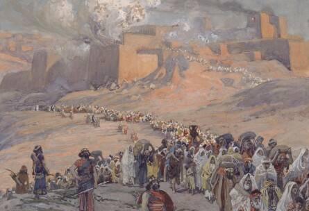 ジェームズ・ティソ 『バビロン捕囚』