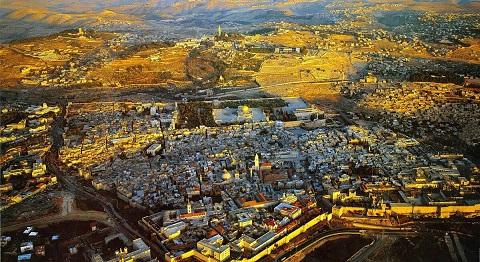 エルサレム鳥瞰図