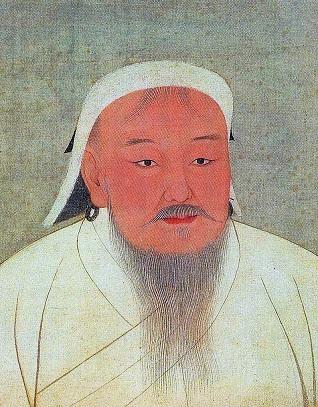 チンギス・カン肖像