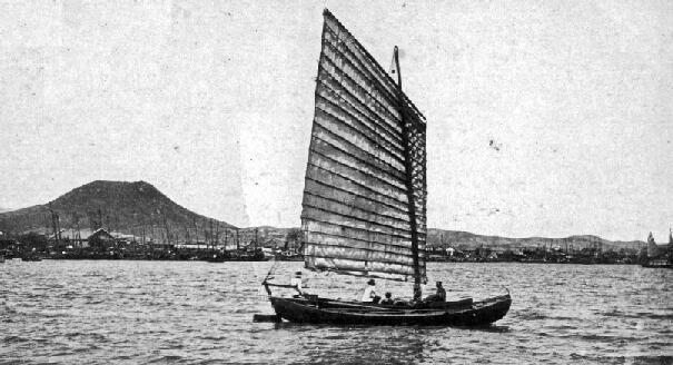 100年ほど前の、朝鮮のお船♥