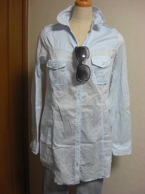 洗いざらしのシャツ