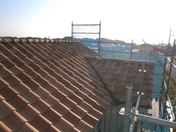 KR屋根完了