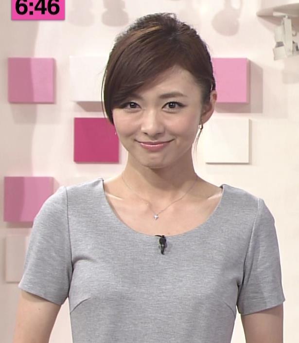 伊藤綾子 Tシャツおっぱいキャプ画像(エロ・アイコラ画像)