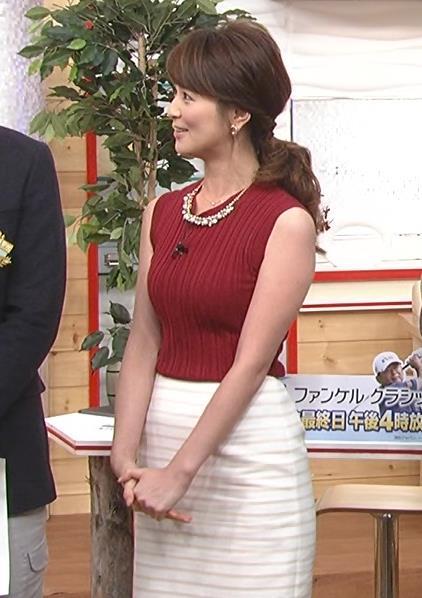 秋元玲奈 巨乳ノースリーブキャプ画像(エロ・アイコラ画像)