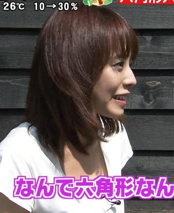 上田まりえ 胸ちらキャプ・エロ画像2