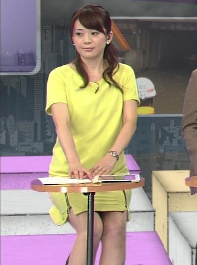 橋本奈穂子 ミニスカ美脚キャプ画像(エロ・アイコラ画像)