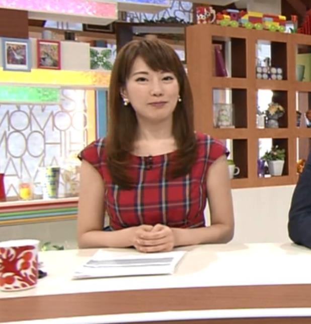 新垣泉子 地方巨乳アナキャプ画像(エロ・アイコラ画像)