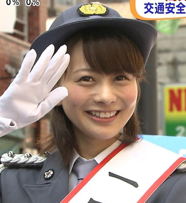 高見侑里 婦警コスプレキャプ画像(エロ・アイコラ画像)