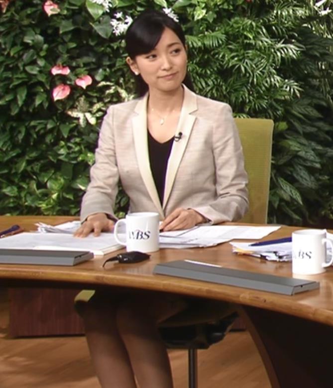 大江麻理子 ミニスカ美脚キャプ画像(エロ・アイコラ画像)
