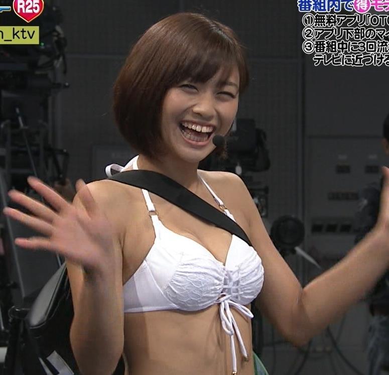 安枝瞳 「水着AD」って…、関西の番組のほうが過激なのが多い。キャプ画像(エロ・アイコラ画像)