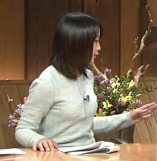 竹内由恵 おっぱいのふくらみキャプ画像(エロ・アイコラ画像)