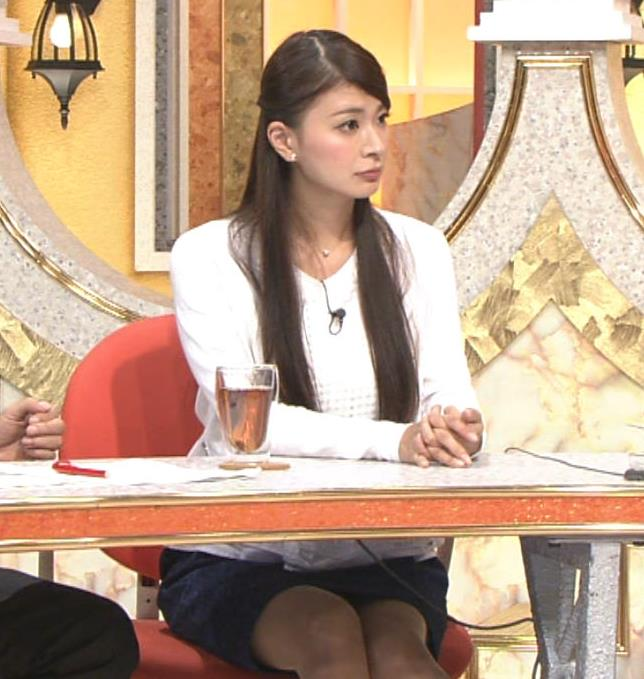 八田亜矢子 ミニスカ美脚&デルタゾーンキャプ画像(エロ・アイコラ画像)