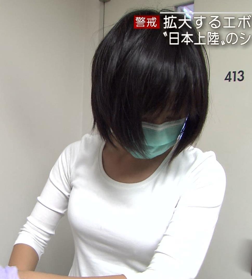 矢島悠子 Tシャツぴったりおっぱいキャプ画像(エロ・アイコラ画像)