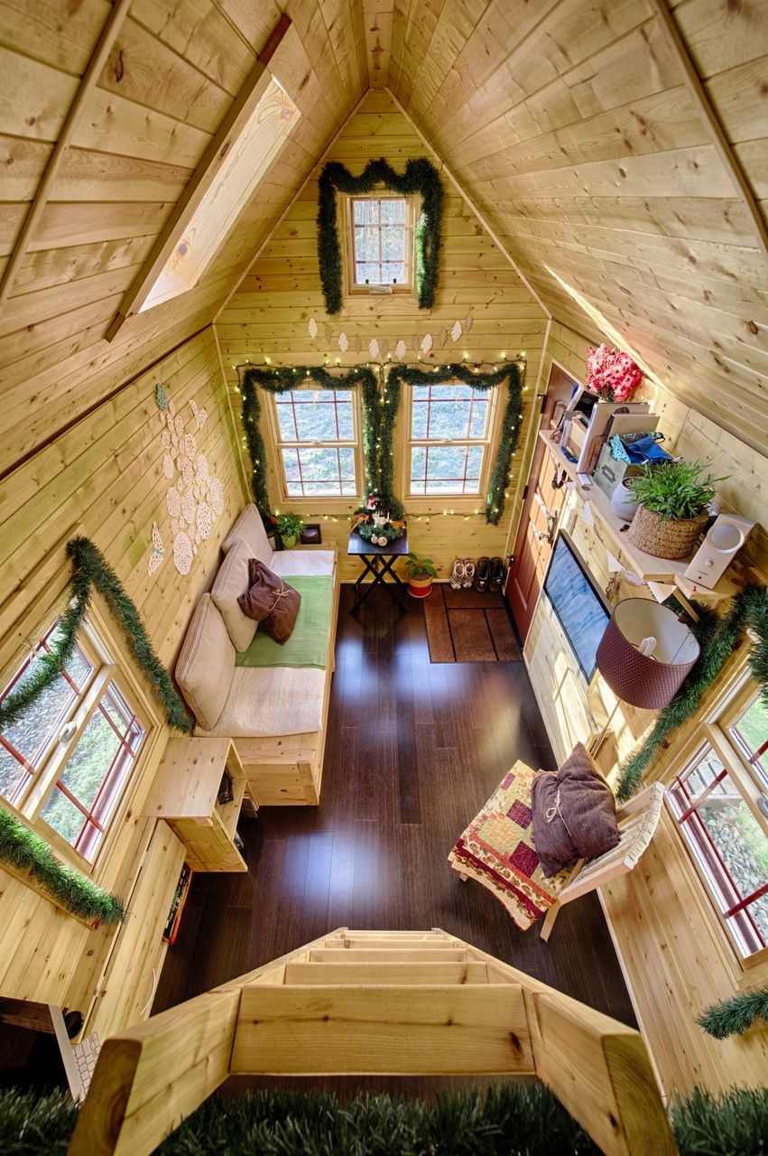 Tiny shed life for Small house decorating ideas blog