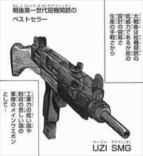 うぽって4/UZIサブマシンガン