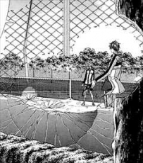 新テニスの王子様12巻越前リョーマの殺人的ショット