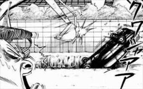 高校アフロ田中4巻ヤクザのクルマを壊す